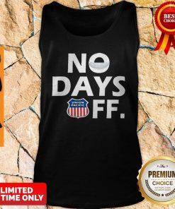 Premium Union Pacific No Days Off Coronavirus Tank Top
