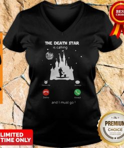 Madalorian And Baby Yoda The Death Star Is Calling And I Must Go V-neck