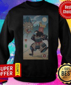 Nice Samurai Vs Virus Demon No 3 Sweatshirt