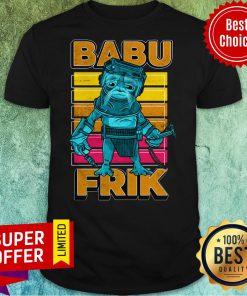 Nice Star Wars The Rise Of Skywalker Babu Frik Shirt