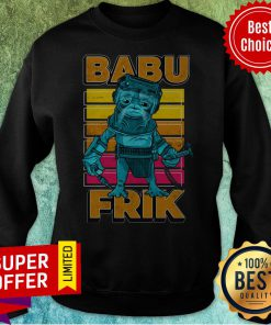 Nice Star Wars The Rise Of Skywalker Babu Frik Sweatshirt