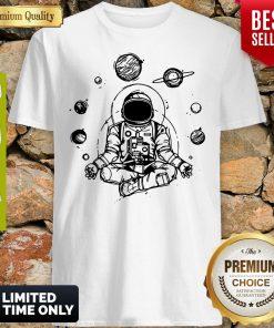 Official Astronaut Zen Yoga Spiritual Space Shirt