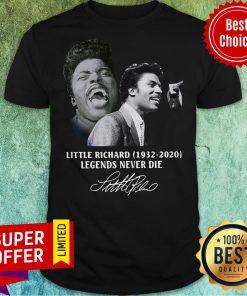 Official Little Richard 1932 2020 Legends Never Die Signature Shirt