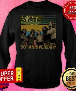 Top Mott The Hoople 1970 2020 50th Anniversary Sweatshirt