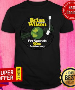 Awesome Brian Wilson Pet Sounds 50th Anniversary Shirt