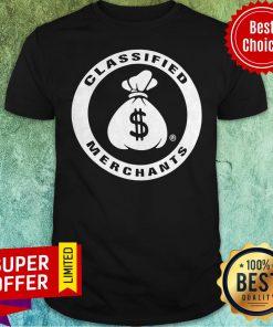 Awesome Merchants Classified Shirt