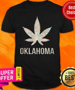 Funny Weed Cannabis Oklahoma Flag Shirt
