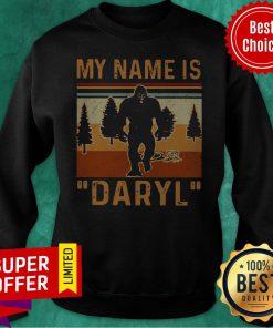 Awesome My Name Is Daryl Vintage Sweatshirt
