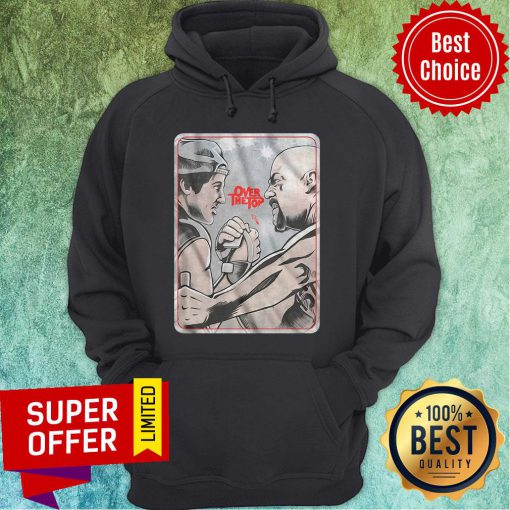 Funny Lincoln Hawk vs Bull Hurley Over The Top Hoodie