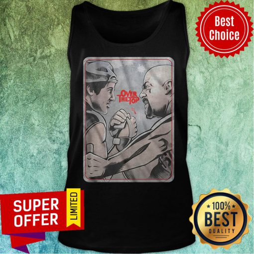 Funny Lincoln Hawk vs Bull Hurley Over The Top Tank Top