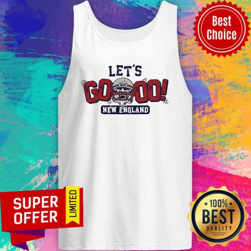 Nice Let's Go New England Tank Top