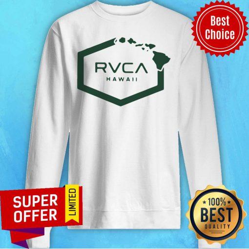 Nice Rvca Islands Hex Hawaii Sweatshirt