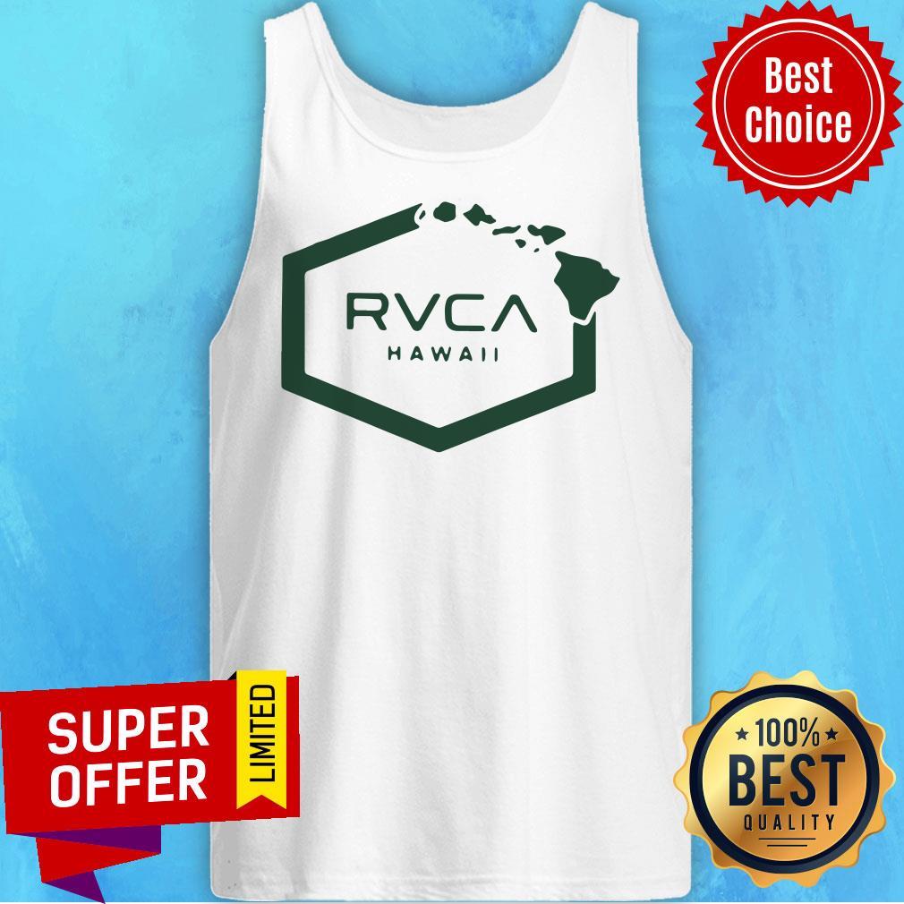 Nice Rvca Islands Hex Hawaii Tank Top