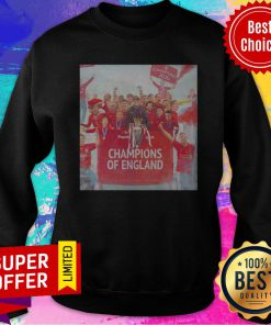 Official Liverpool Champions Of England Legend Sweatshirt