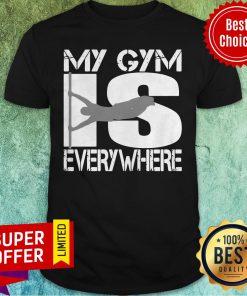 Top Calisthenics Workout Parkour Human Flag Shirt