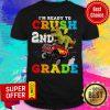 Nice I'm Ready To Crush 2nd Grade Monster Truck Back Shirt