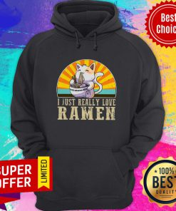 Official I Just Really Love Ramen Hoodie