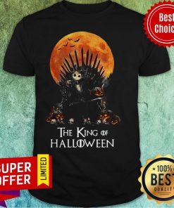 Official Jack Skellington The King Of Halloween Shirt