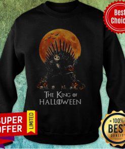 Official Jack Skellington The King Of Halloween Sweatshirt