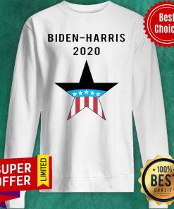 Top Biden Harris 2020 American Flag Sweatshirt