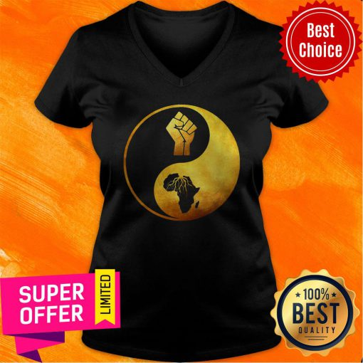 Awesome Proud African Roots V-neck