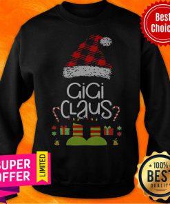 Awesome Elf Gigi Claus Christmas Sweatshirt