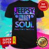 Premium Jeepsy Soul Messy Hair And Zero Cares Shirt