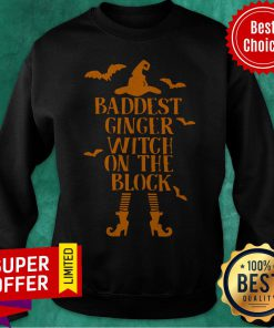 Awesome Baddest Hinger Witch On The Block Sweatshirt