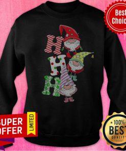 Top Gnomes Ho Ho Ho Merry Christmas Sweatshirt