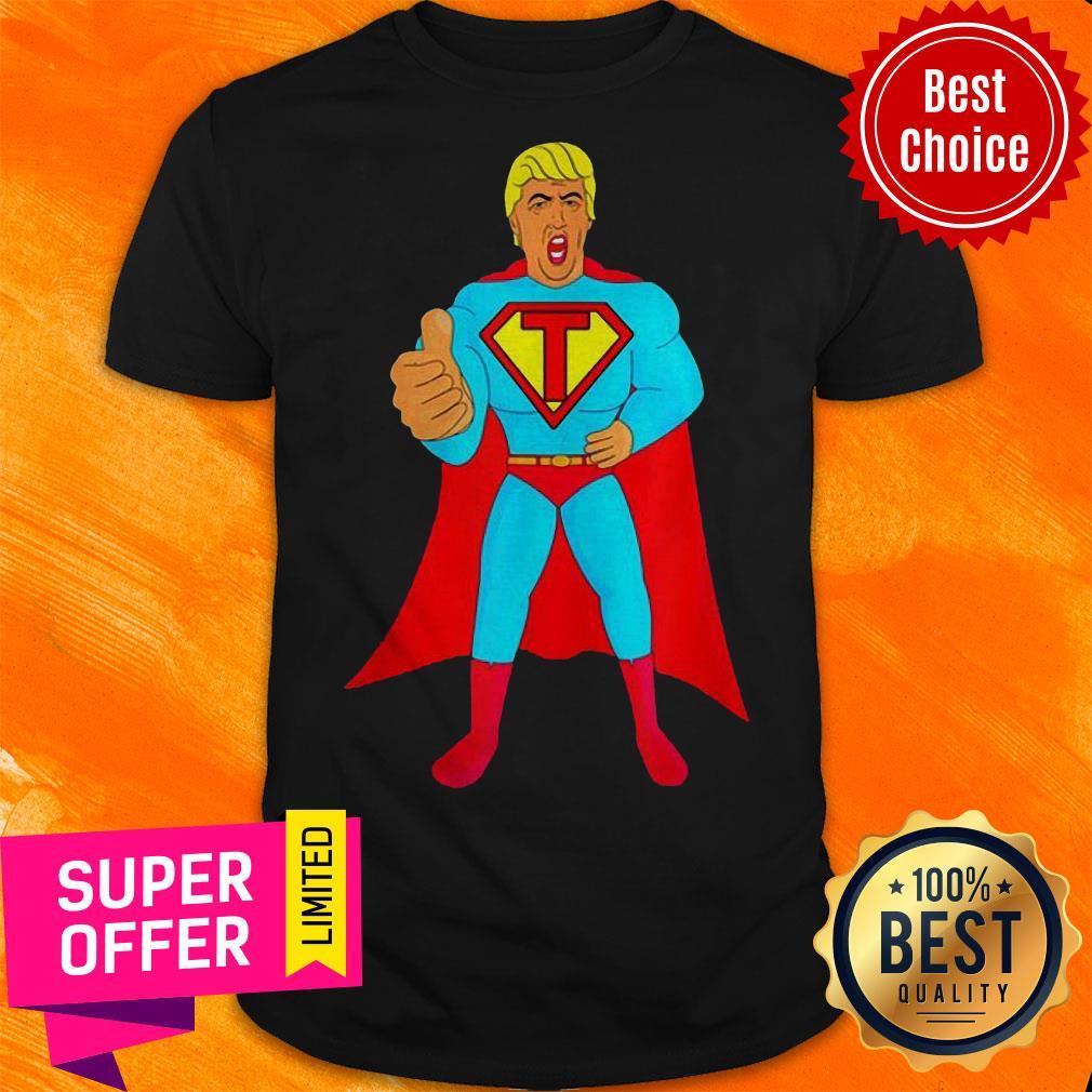 Trumpman 2020 Funny Super Gift Election Presidential 2020 Superman Shirt Daisy Tshirt