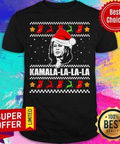 Funny Kamala Harris La La La Christmas Ugly Shirt