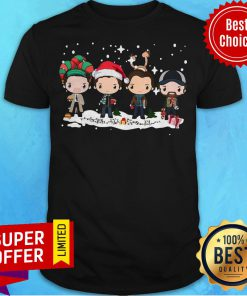 Funny The Beatles Merry Christmas Shirt