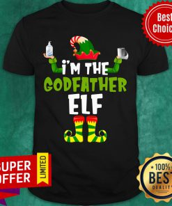 Premium I'm The Godfather Elf Quarantine Matching Christmas Shirt