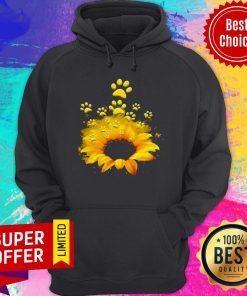 Premium Sunflower Dog Hoodie