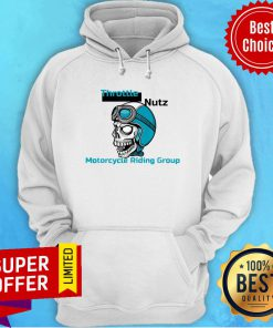Awesome Skull Wearing A Helmet With Goggles Hoodie