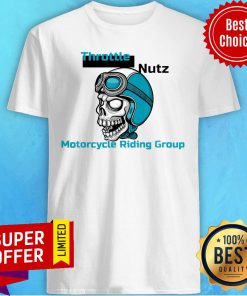 Awesome Skull Wearing A Helmet With Goggles Shirt