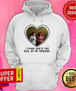 Michael Cera And Mary Elizabeth I Think She's The Girl Of My Dreams Hoodie