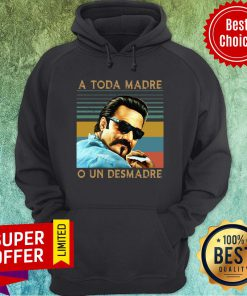 Official Blood in Blood Out A Toda Madre O Un Desmadre Vintage Retro Hoodie