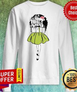 Premium Girl Hug Gift Box Merry Christmas Sweatshirt
