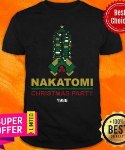 Top Nakatomi Plaza Christmas Party 1988 Shirt