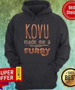 Awesome Kovu Made Me A Furry 2021 Hoodie