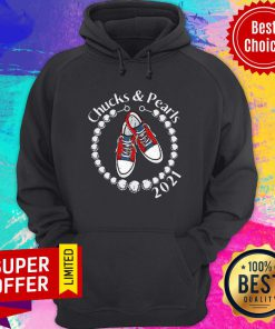 Chucks And Pearls 2021 VP Kamala Harris Inauguration Day For Hoodie