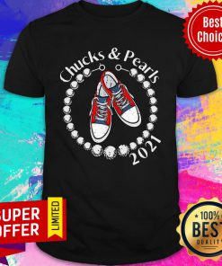 Chucks And Pearls 2021 VP Kamala Harris Inauguration Day For Shirt