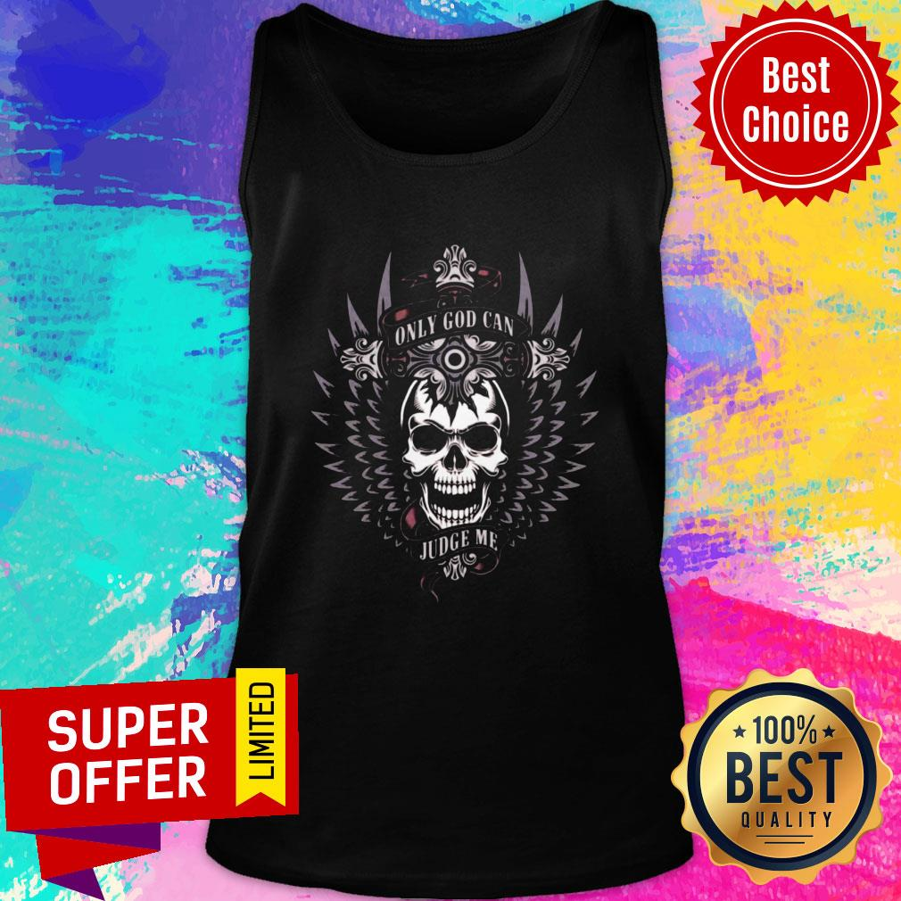 Official Only God Can Judge Me Tank Top