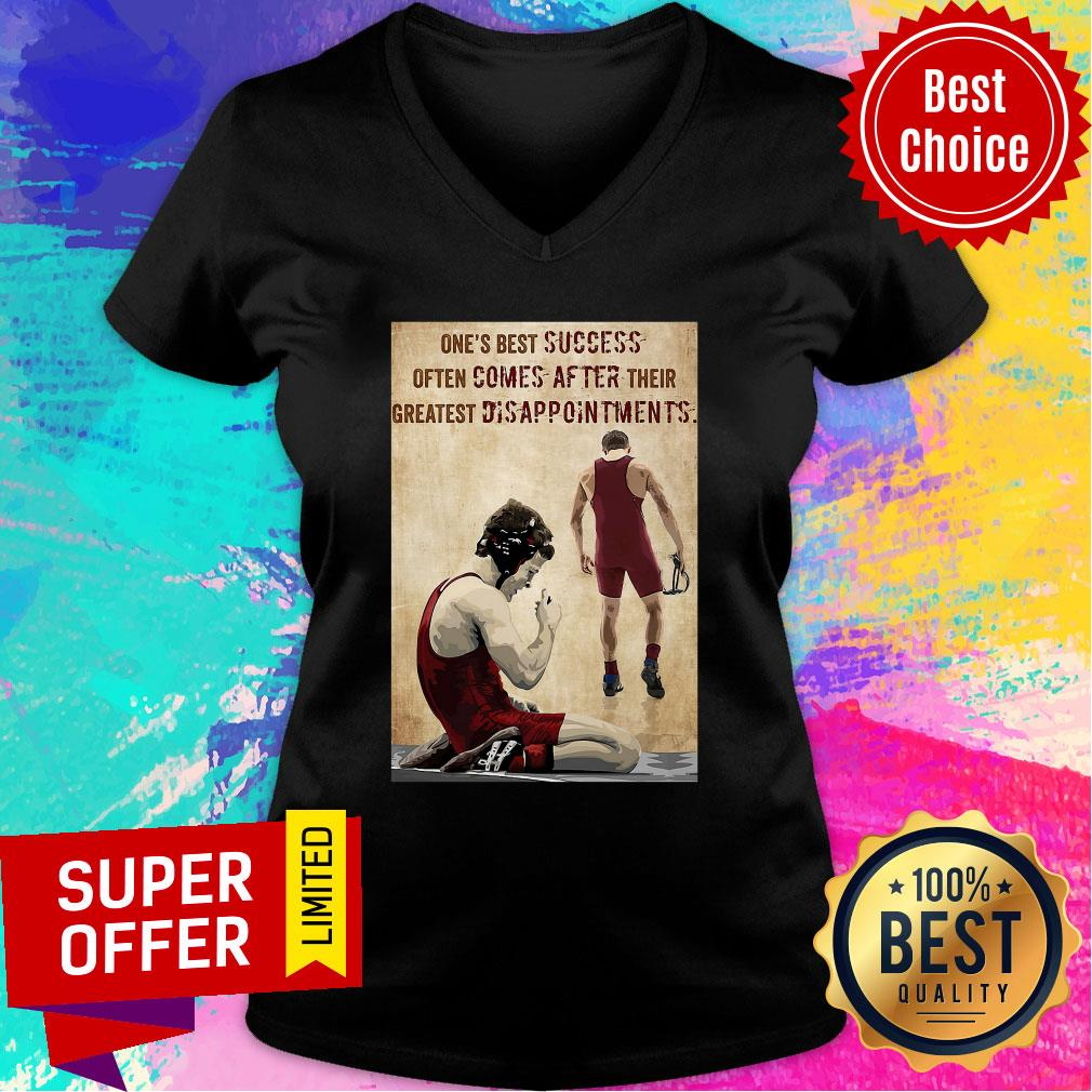 One's Best Success Often Comes After Their Greatest Disappointments V-neck