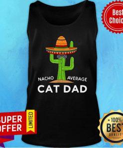 Cat Pet Owner Humor Meme Quote Saying Cat Dad Tank Top