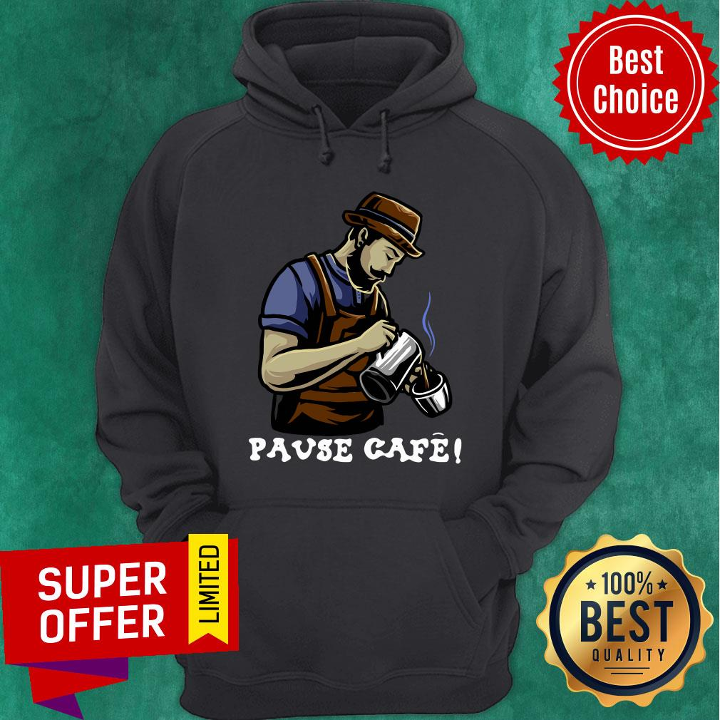 Official Pause Cafe The Bartender Hoodie