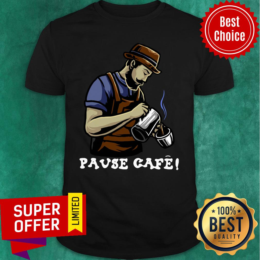 Official Pause Cafe The Bartender Shirt