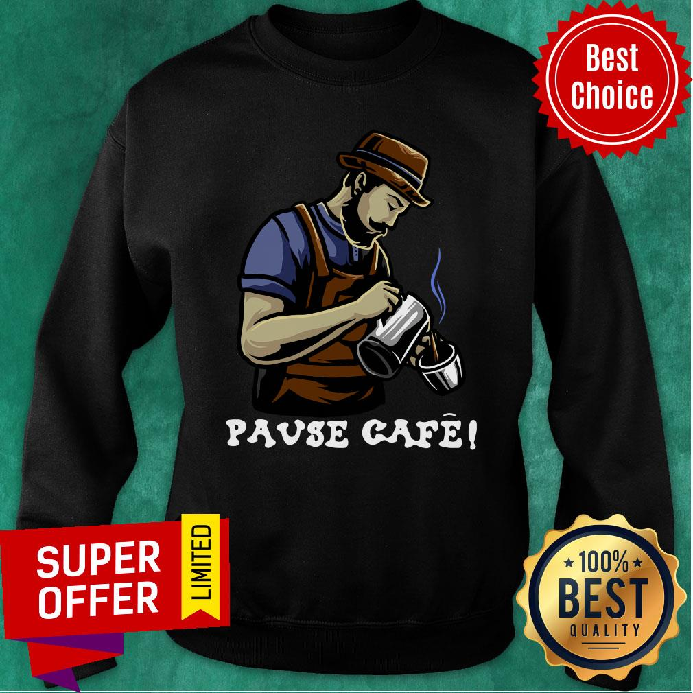 Official Pause Cafe The Bartender Sweatshirt