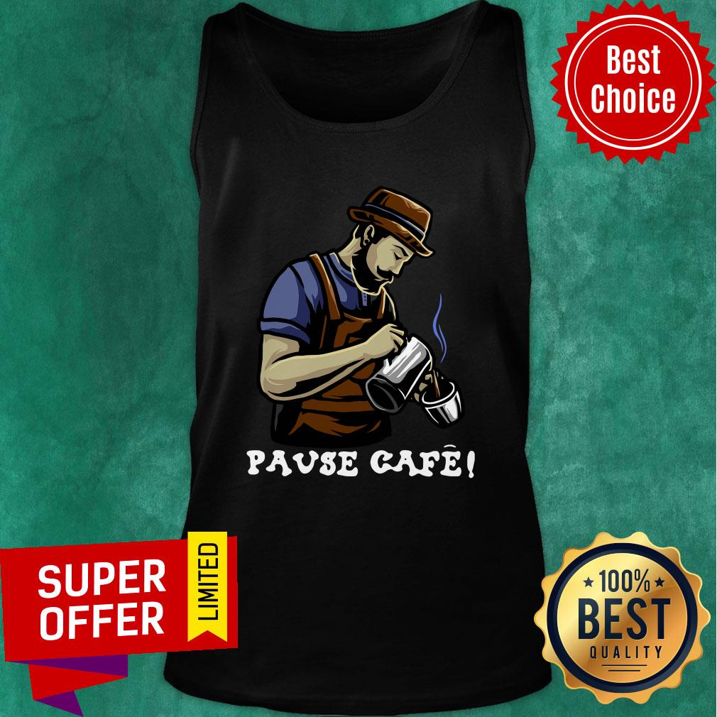 Official Pause Cafe The Bartender Tank top